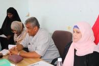 دائرة المرأة والطفل بالانتقالي تدشن قطاعات المرأة في أبين ومراكز مديرية زنجبار