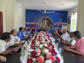 الانتقالي يواصل لقاءاته التشاورية بلقاء قيادة الهيئة الوطنية العليا للاستقلال
