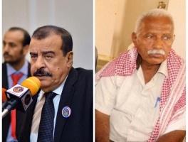 رئيس الجمعية الوطنية للانتقالي يطمئن على صحة المناضل اللواء / أحمد بن جوهر رئيس لجنة الأمن بعد اجراءه لعملية ناجحة