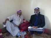 السليماني يؤدي واجب العزاء لأسرة مديرة إدارة المرأة في محافظة شبوة