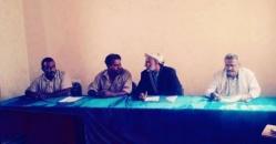 رئيس انتقالي شبوة يلتقي أعضاء القيادة المحلية في مديرية عتق