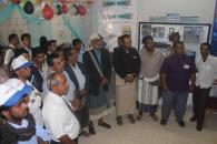 رئيس انتقالي شبوة يزور معرض كلية التربية بمناسبة ذكرى تأسيسها ال25