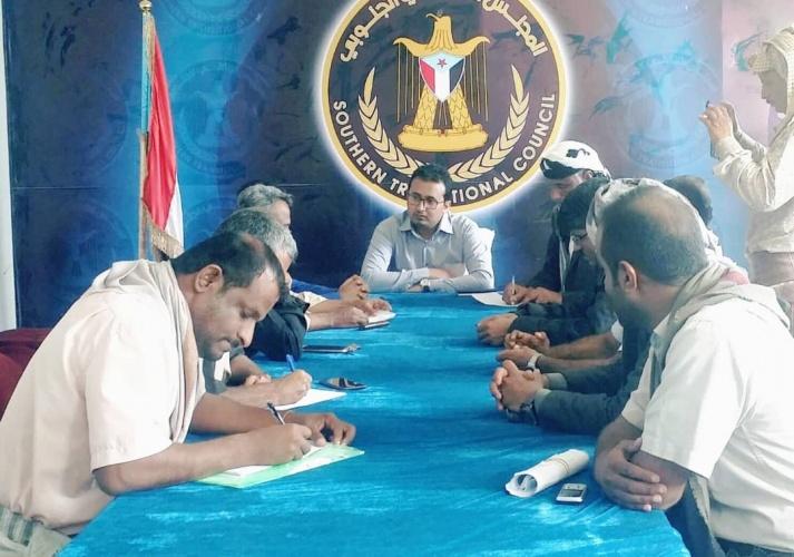 الناطق الرسمي يلتقي قيادة انتقالي شبوة وينقل لهم مباركة الرئيس الزبيدي بنجاح فعالية ذكرى الاستقلال