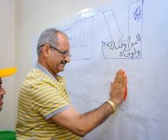 بمشاركة الجعدي - الدائرة القانونية في المجلس الانتقالي تنظم فعالية اختتام حملة لا للعنف ضد المرأة