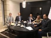 الخبجي يلتقي السفير الفرنسي لدى اليمن