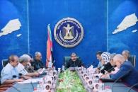 رئاسة الانتقالي تعقد اجتماعاً استثنائيا وتناقش المستجدات على الساحة الجنوبية