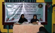 دائرة المرأة و الطفل تنفذ المرحلة الثالثة من دورات مربيات رياض الأطفال في العاصمة عدن