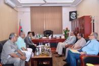 الرئيس الزـبيدي يلتقي قيادة الأمانة العامة ويوجه باتخاذ مايلزم لعقد الاجتماع السنوي لقيادات المحافظات