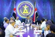 الأمانة العامة للمجلس الانتقالي تعقد اجتماعها الدوري برئاسة لملس
