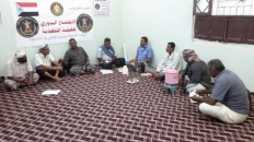 """انتقالي """"القطن"""" يعقد اجتماعاً استثنائياً لتدارس احتياجات ومطالب ومشكلات المديرية"""
