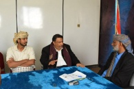 رئيس انتقالي شبوة يلتقي رئيس لجنة الوفاق الجنوبي