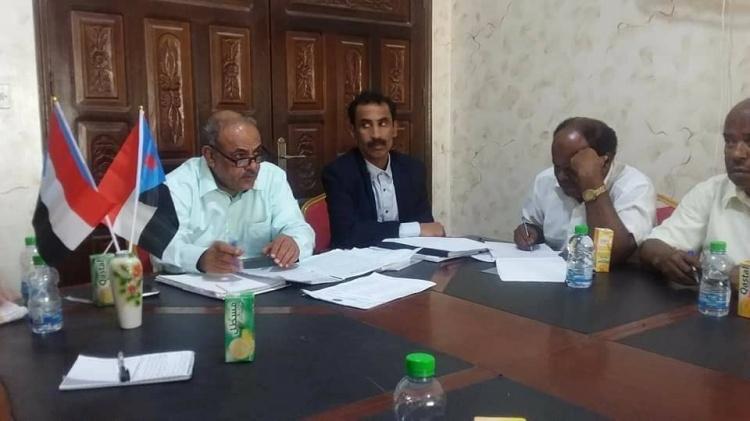 الهيئة التنفيذية لانتقالي حضـرموت تعقد اجتماعها الدوري الثاني