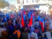 انتقالي لـودر ينظم مسيرة جماهيرية ضد الفساد