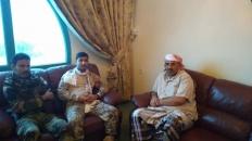 الرئيس الزٌبيدي يلتقي بقيادة النخبة الشبوانية