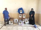 دائرة المرأة والطفل تقدم دعماً لنزيلات دار المسنين بالعاصمة عدن