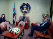 الأمين العام يبحث مع مستشاري المبعوث الدولي غريفث العملية السياسية وسُبل إحلال السلام في اليمن