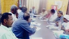 القيادة المحلية لانتقالي العاصمة عدن تعقد اجتماعها الدوري الاعتيادي
