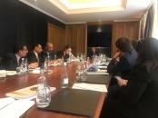 الرئيس عيدروس الزبيدي يلتقي عددا من ممثلي المنظمات الدولية غير الحكومية في لندن