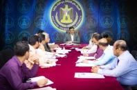 الأمانة العامة تستعرض تقارير إنجازها ومشاركة بعثة المجلس الانتقالي في المحافل الدولية