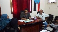 رئيس انتقالي لحج يلتقي بقيادة مجموعة جنوبيات من أجل السلام
