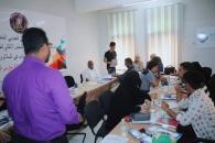 """إدارة الشباب والرياضة والطلاب بانتقالي المنصورة تنظم ورشة عمل حول """"دور الشباب في السلام والأمن """""""