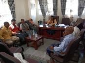 رئيس انتقالي أبين يلتقي بالقيادات النقابية والنسوية ودائرة الشباب في زنجبار