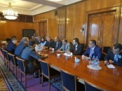 الرئيس الزُبيدي يعقد لقاءً رسمياً هاماً مع نائب وزير الخارجية الروسي ميخائيل بغدانوف في مقر الخارجية الروسية
