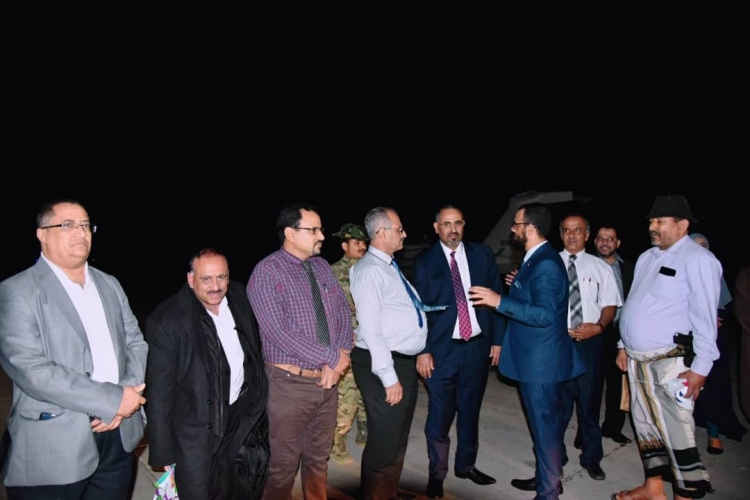 الرئيس الزُبيدي يعود إلى العاصمة عدن بعد جولة خارجية ناجحة