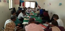 الهيئة التنفيذية بانتقالي لحج تعقد اجتماعها الدوري