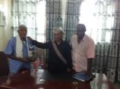 رئيس انتقالي أبين يلتقي برئيس اللجنة الطوعية لإصلاح مجاري منطقة الكود