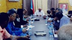 الهيئة التنفيذية لانتقالي العاصمة عدن تقر برنامج الأنشطة الرمضانية