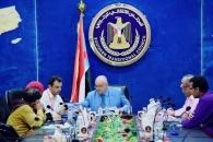 لجنة المجلس الانتقالي للإغاثة والأعمال الإنسانية تعقد اجتماعها الدوري الأول
