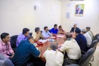 رئيس الجمعية الوطنية يستأنف المرحلة الثانية للحوار الجنوبي مع ممثلي الهيئة الوطنية العليا للاستقلال