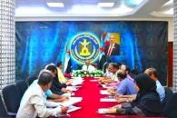 الأمانة العامة تعقد اجتماعها الدوري برئاسة الجعدي