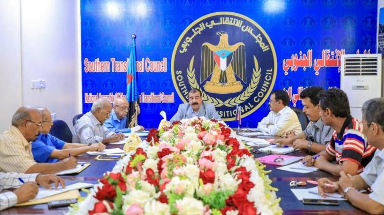 رئيس الجمعية الوطنية يواصل جلسات الحوار الجنوبي مع ممثلي هيئة الدبلوماسيين الجنوبيين