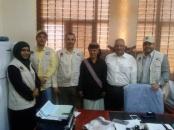 لجنة الإغاثة بالمجلس الانتقالي تدعم مستشفى زنجبار بأدوية ومعدات طبية