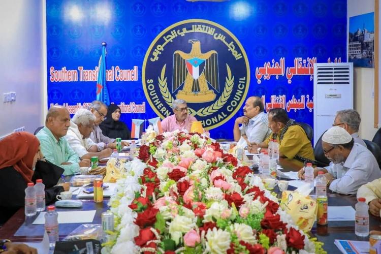 لجنة الحوار الجنوبي تلتقي بالقيادة الجماعية لجبهة التحرير والتنظيم الشعبي (بلاغ)