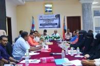 مناقشة تأسيس اتحاد عام للحقوقيين الجنوبيين في لقاء للدائرة القانونية بالأمانة العامة