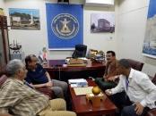 رئيس الجمعية الوطنية يلتقي رئيس اتحاد الأدباء والكتّاب الجنوبيين بلحج