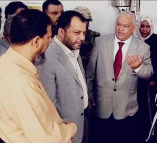 لجنة الطوارئ بالمجلس الانتقالي تلتقي إدارة المياه والصرف الصحي بالعاصمة عدن