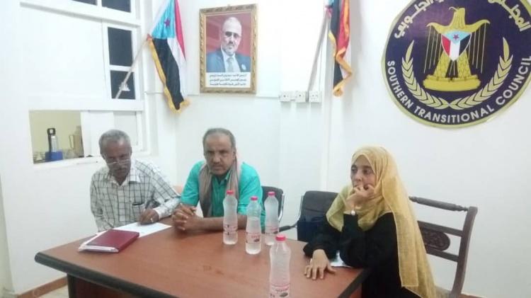 العميد السعدي يلتقي لجان الإغاثة والأعمال الإنسانية و الطوارئ في عدد من مديريات بالعاصمة عدن