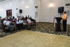 مساعد الأمين العام يشارك في إحياء الذكرى السنوية التاسعة لاستشهاد الدرويش