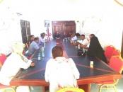 رئيس انتقالي حضرموت يناقش الاشكاليات التنظيمية في القيادة المحلية للمجلس بالديس الشرقية