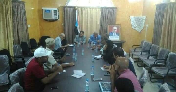 بحضور الكاف .. الوالي  يترأس اجتماعاً هاماً لإدارة الشباب والرياضية بانتقالي العاصمة عدن ومديرياتها