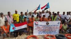 انتقالي غيل باوزير يدشن فعاليات مهرجان البلدة على شاطئ شحير