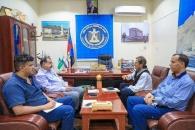 رئيس الجمعية الوطنية يلتقي الناطق الرسمي لمجالس التنسيق العسكرية والمدنية بالجنوب