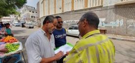 فرق رصد انتهاكات المعالم الثقافية تواصل نزولاتها الميدانية لمديريات العاصمة عدن