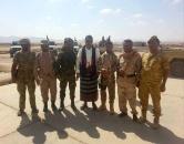 العولقي يزور اللواء الرابع نخبة ويحث منتسبيه على تعزيز تماسكهم لتحقيق الأهداف السامية