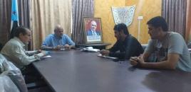 نائب رئيس انتقالي العاصمة عدن يلتقي ممثل المعهد الديمقراطي الوطني للشؤون الدولية