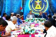 اللواء بن بريك يفتتح الاجتماع الاستثنائي للهيئة الإدارية للجمعية الوطنية